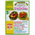 Oekonorm Οικολογικές Φυσικές βαφές αυγών 5 χρώματα
