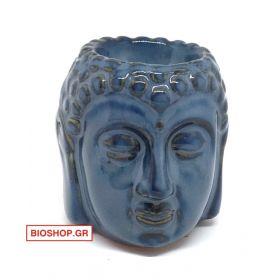 Μπλέ κεφαλή Βούδα