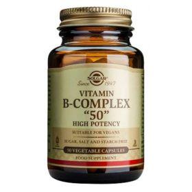 Βιταμίνη B-50 Complex veg.caps 50s SOLGAR