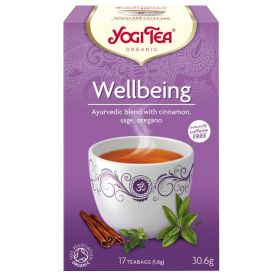 Wellbeing YOGI TEA βιολογικο τσαι