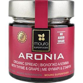 Επάλειμμα Αρώνια με Θυμάρι -Σταφύλι 260gr bio (MOURO)