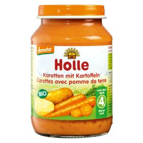 Βρεφικό γεύμα καρότα με πατάτες (HOLLE)