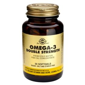 OMEGA-3 Double Strength 700mg softgels 60s SOLGAR