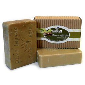 Σαπούνι Ελαιολάδου με φύλλα ελιάς