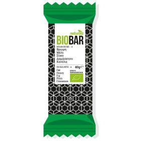Μπάρα Bio με βρώμη, μέλι, σύκο, δαμάσκηνο & κανέλα NATURALS