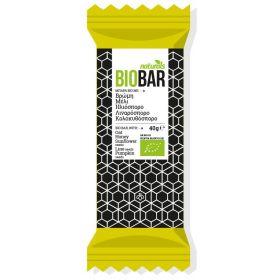 Μπάρα Bio με βρώμη, μέλι, ηλιόσπορο, λιναρόσπορο & κολοκυθόσπορο NATURALS