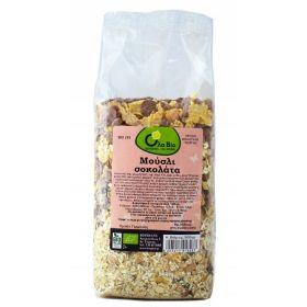 organic muesli choco