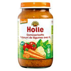 Βρεφικό γεύμα ριζότο λαχανικών (HOLLE)