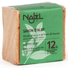 Σαπούνι Χαλεπίου με δαφνέλαιο 12% (NAJEL)