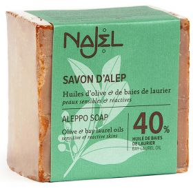 Σαπούνι Χαλεπίου με δαφνέλαιο 40% (NAJEL)