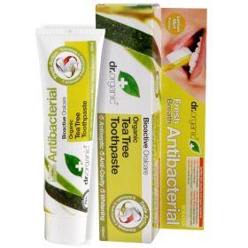 Dr. Organic Tea Tree Toothpaste Antibacterial