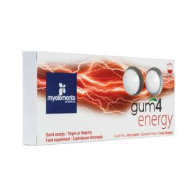 Gum4 Energy Τσίχλα με Καφεΐνη για Αύξηση της Ενέργειας