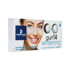 Gum4 Whitening Τσίχλα για λευκά δόντια