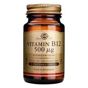 Vitamin B-12 500ug Veg. Caps