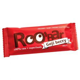 Ωμή Μπάρα με Goji Berries 30g (ROOBAR)