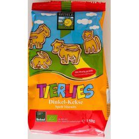 Tierlies spelt biscuits animals sugar free-ΒΙΟΥΓΕΙΑ