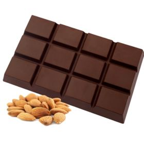 Dark chocolate with almonds no sugar BIO (KOXYLI)