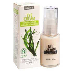 Κρέμα Ματιών με εκχύλισμα Αγγουριού και Φύκια BIOLYN