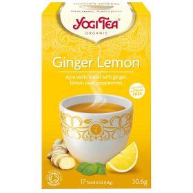 Ginger Lemon Βιολογικό τσάι 30gr