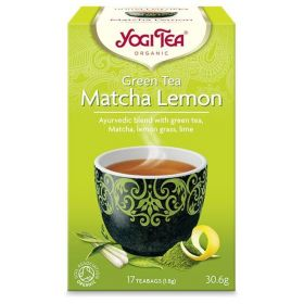 Green Matcha Lemon YOGI TEA