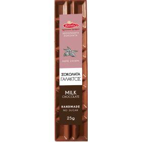 Σοκολάτα Γάλακτος Χ.Ζ. BIO 25gr (ΚΟΧΥΛΙ)
