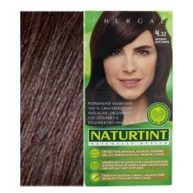 Βαφή μαλλιών 4.32 έντονο καστανό NATURTINT