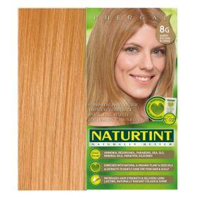 Βαφή μαλλιών 8G ξανθό χρυσαφί ανοιχτό NATURTINT