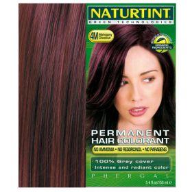 Βαφή μαλλιών 4Μ καστανό μαόνι NATURTINT