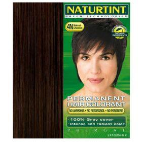 Βαφή μαλλιών 4Ν καστανό (NATURTINT)