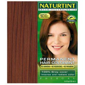 Βαφή μαλλιών 5C καστανό χαλκόχρουν ανοιχτό NATURTINT