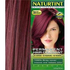 Βαφή μαλλιών 5Μ καστανό ανοιχτό μαόνι NATURTINT