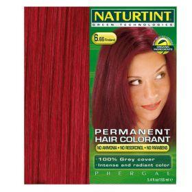 Βαφή μαλλιών 6.66 έντονο κόκκινο NATURTINT