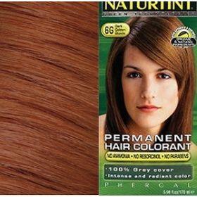 Βαφή μαλλιών 6G ξανθό σκούρο χρυσαφί NATURTINT