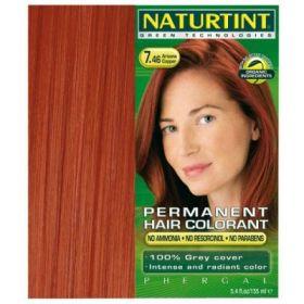 Βαφή μαλλιών 7.46 έντονο χαλκοκόκκινο NATURTINT