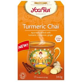 Turmeric Chai - Βιολογικό τσάι κουρκουμά