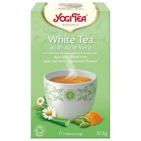 YOGI TEA WHITE ΜΕ ALOE VERA