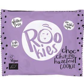 Μπισκότο κομ. σοκολάτας/φουντούκι ROOKIES Χ/ΓΛ (ROOBAR)