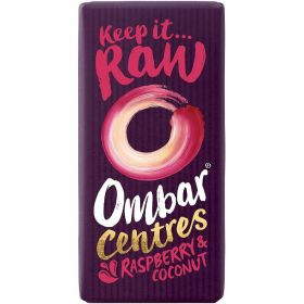 Ombar Raspberry And Coconut Centre