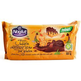 ΧΩΡΙΣ ΓΛΟΥΤΕΝΗ Μπισκότα ζούγκλας σοκολάτα