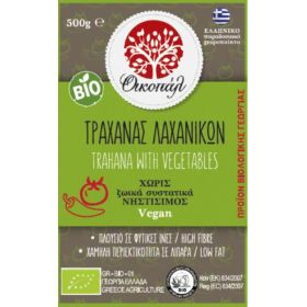 Traxana with vegetables BIO-OIKOPAL