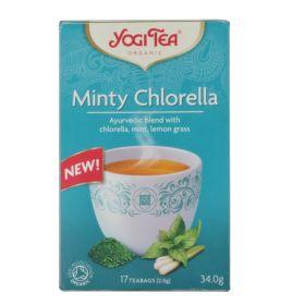 Τσάι Minty Chlorella BIO 34gr (YOGI TEA)