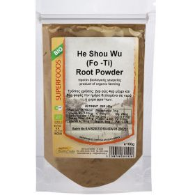 He Shou Wu (Fo-Ti) Powder Bio 100gr (HEALTH TRADE)
