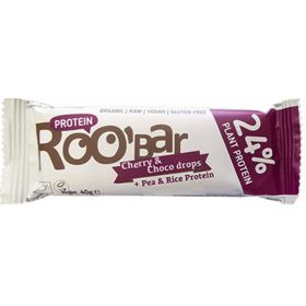 Μπάρα Πρωτεΐνης Κεράσι-Σταγ.Σοκολ. Χ/ΓΛ BIO (ROOBAR)